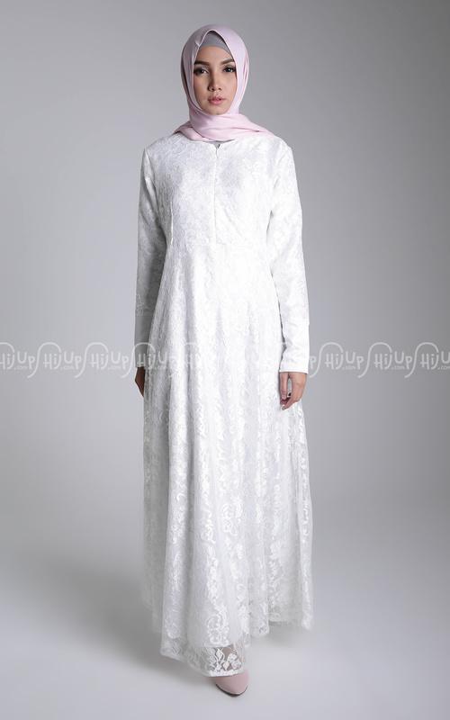 99+ Model Baju Gamis Muslim Modern Terbaru | ButikMuslimin