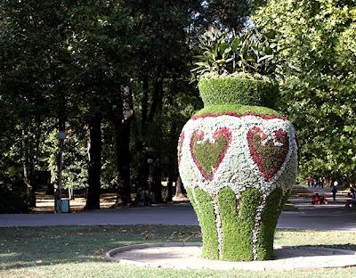 Парка на младежта в Русе - Вазата.