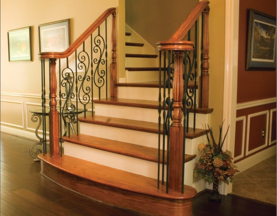 Staircase Banister Ideas in addition Glamorous Stair Balusters Traditional Staircase With Baseboard Beige together with  on stair railing ideas staircase midcentury with chair handrail low