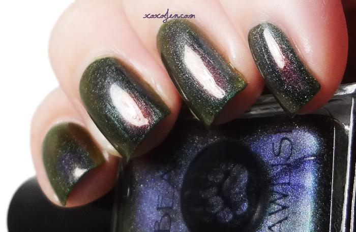 xoxoJen's swatch of Bear Pawlish Untamed