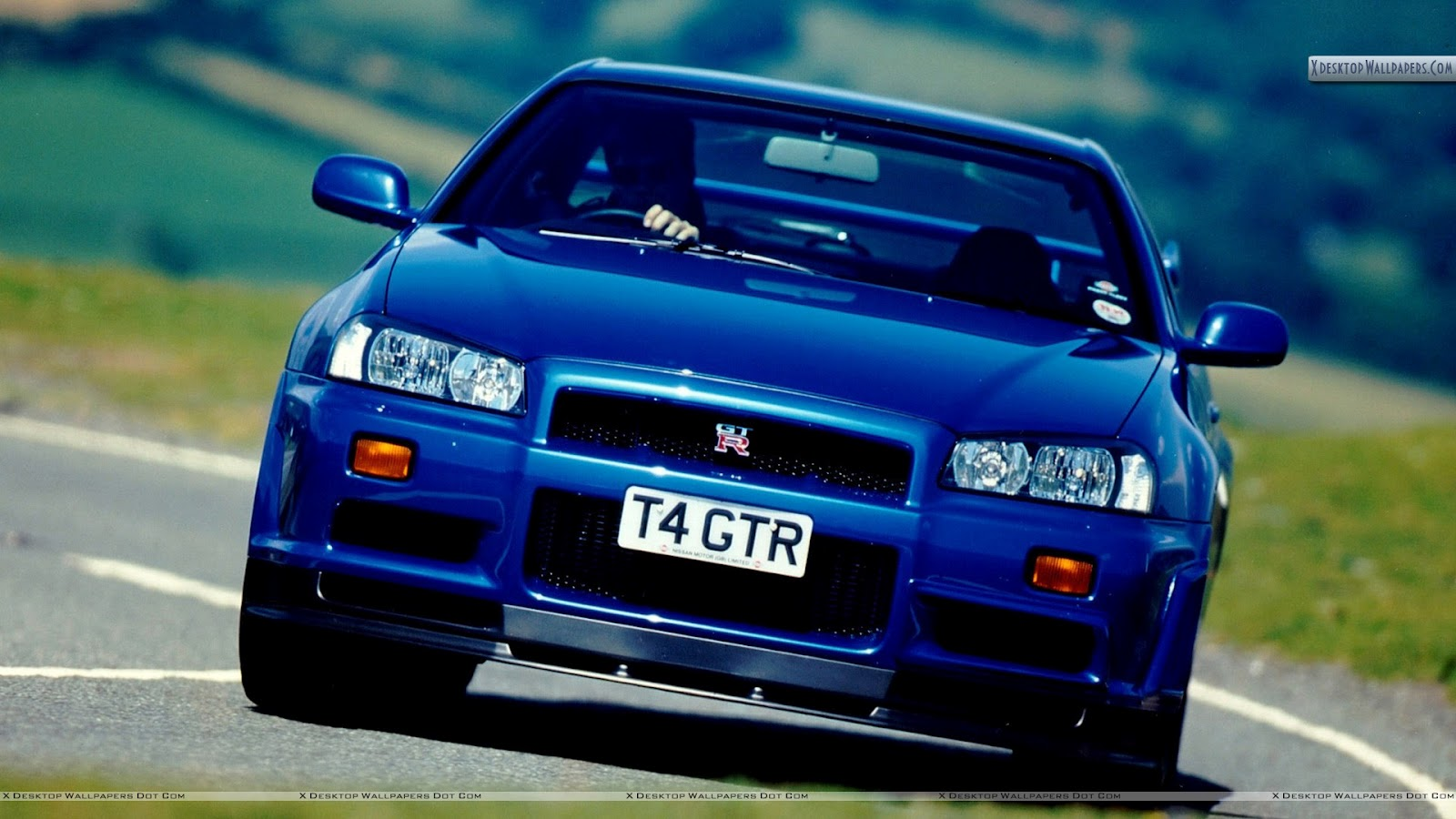 1230carswallpapers nissan sky blue cars
