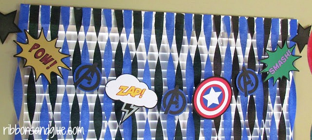 Avengers Party Banner
