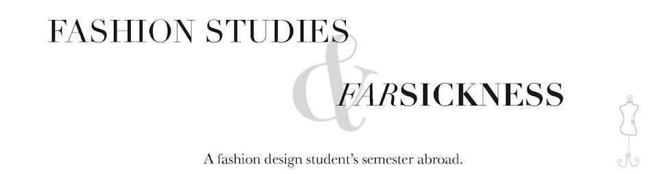 Fashion Studies & Farsickness