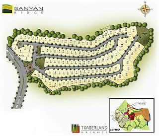 Banyan Ridge at Timberland Heights Quezon City Environs Site Development Map