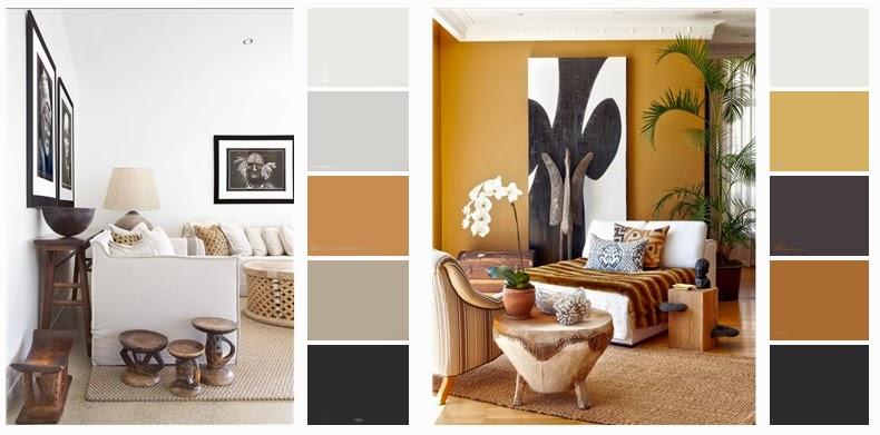 Radiografia de un interiorista dise o interior en - Paredes pintadas de dos colores ...