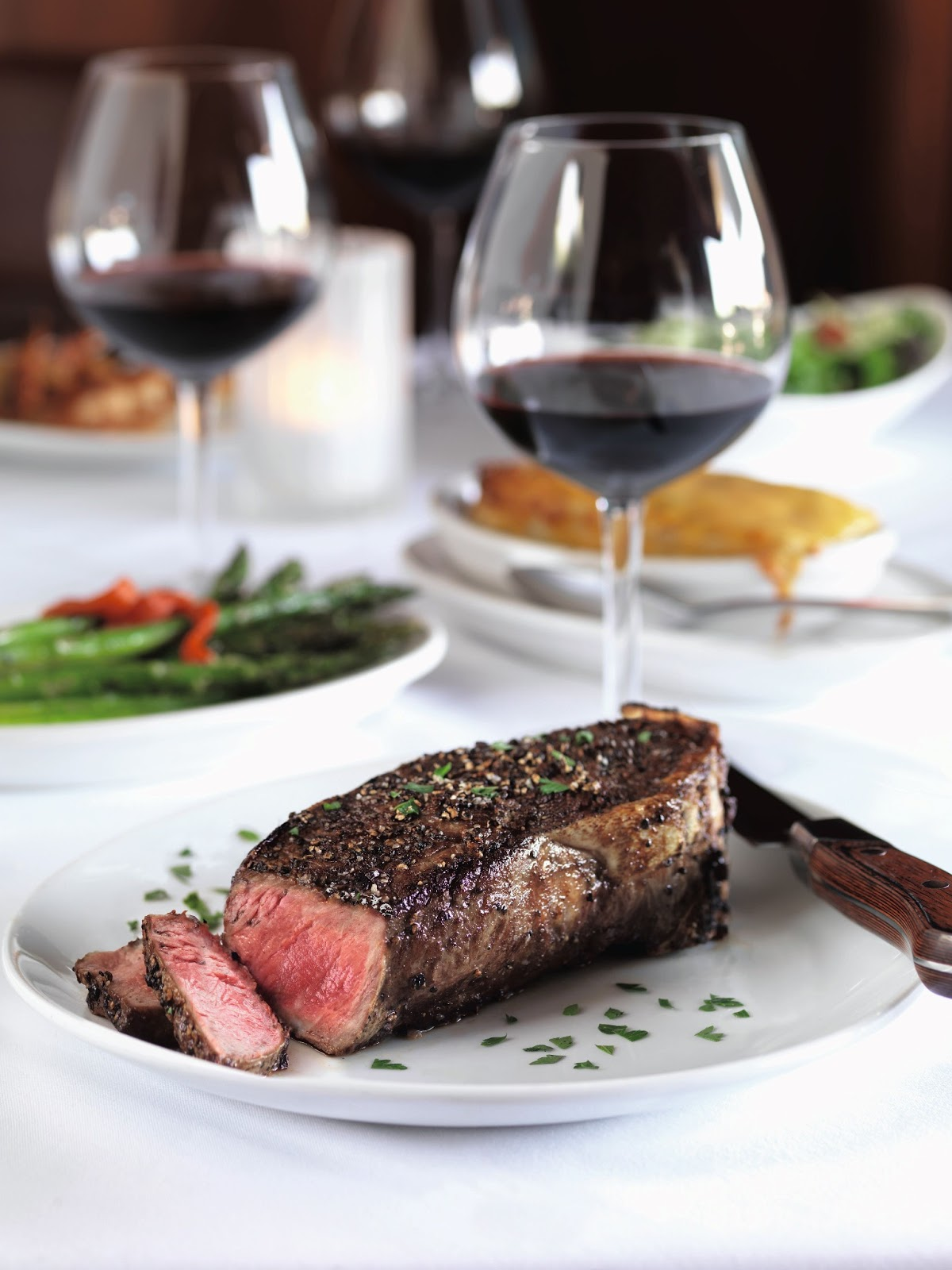 Flemings Prime Steakhouse - Washington vs. California Wine ...