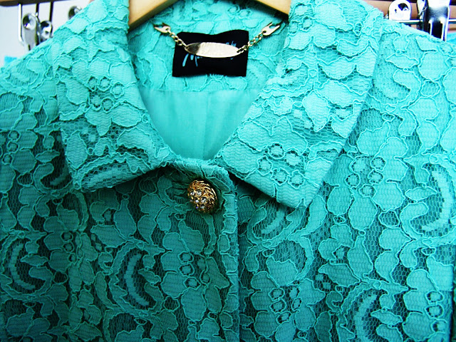 Guess by Marciano sage/mint lace coat, fashion, accessories, trends, spring, summer, new, wishlist, musthave, pret-a-porter, couture