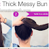 Home Remedies How To Create a Large Messy Bun