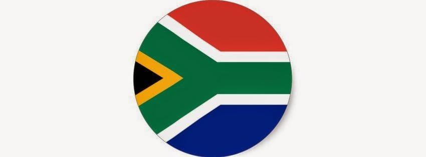 Couverture facebook drapeau afrique du sud