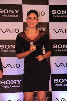 kareena kapoor at the launch of new sony vaio laptops. unseen pics