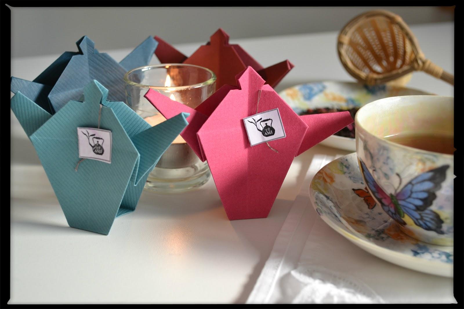 Origami Decoracion De Mesa ~   de diagramas (esto suma al momento de reproducir las piezas aprendidas