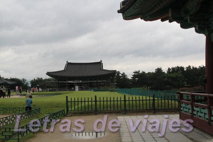 Letras de viajes corea del sur gyeongju estanque anapji for Que significa estanque