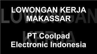 Lowongan Kerja Admin PT Coolpad Electronic Indonesia