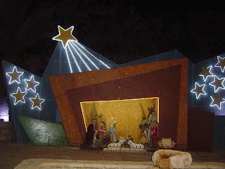 Agia Napa Christmas lights Cyprus