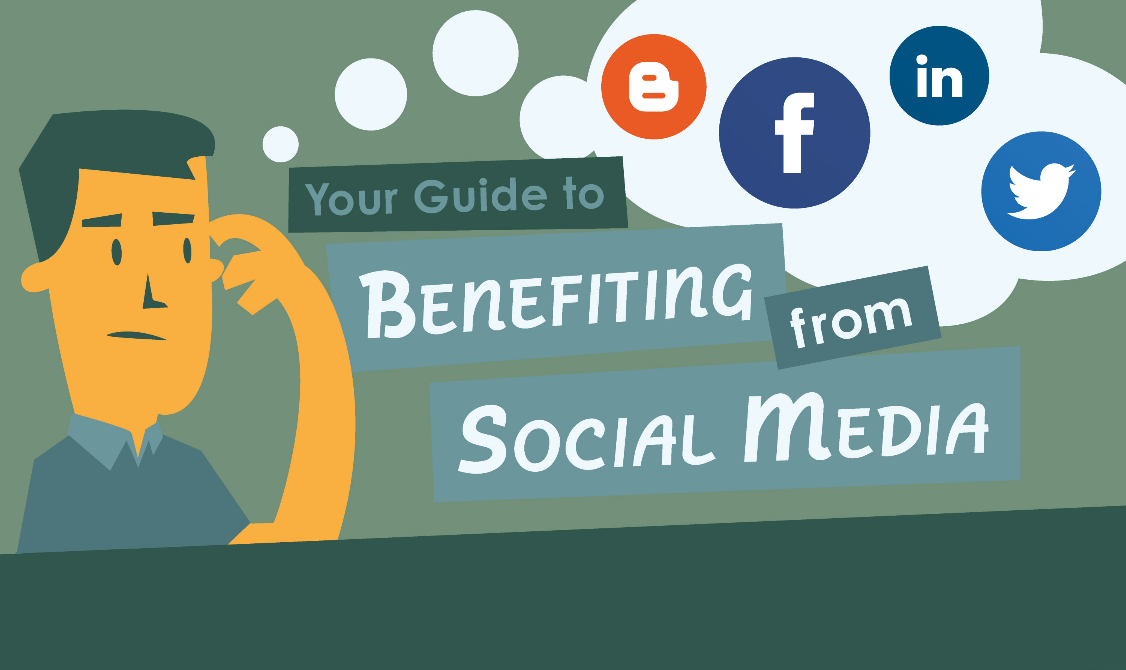Your Guide to Benefiting from Social Media - infographic