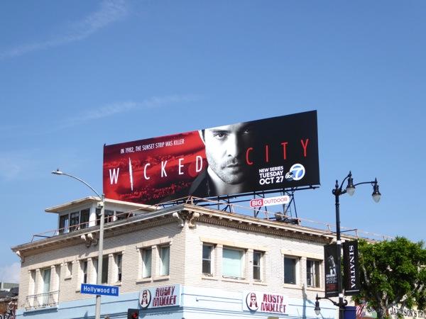 Wicked City series premiere billboard