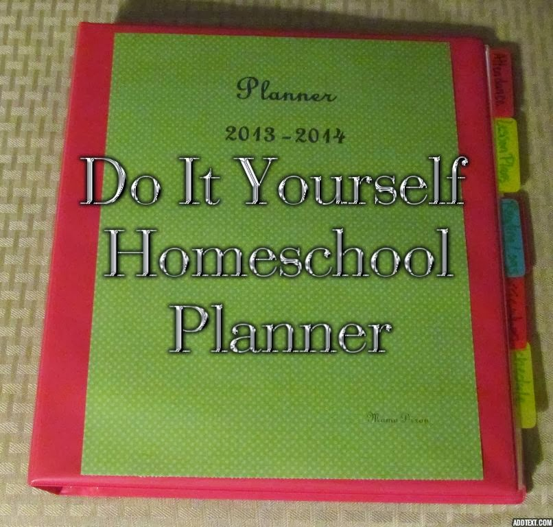 Kitschy homeschool do it yourself homeschool planner first buy a binder and make it pretty this one has a clear cover so i chose a font on wordperfect made a title page printed it on pretty paper solutioingenieria Choice Image