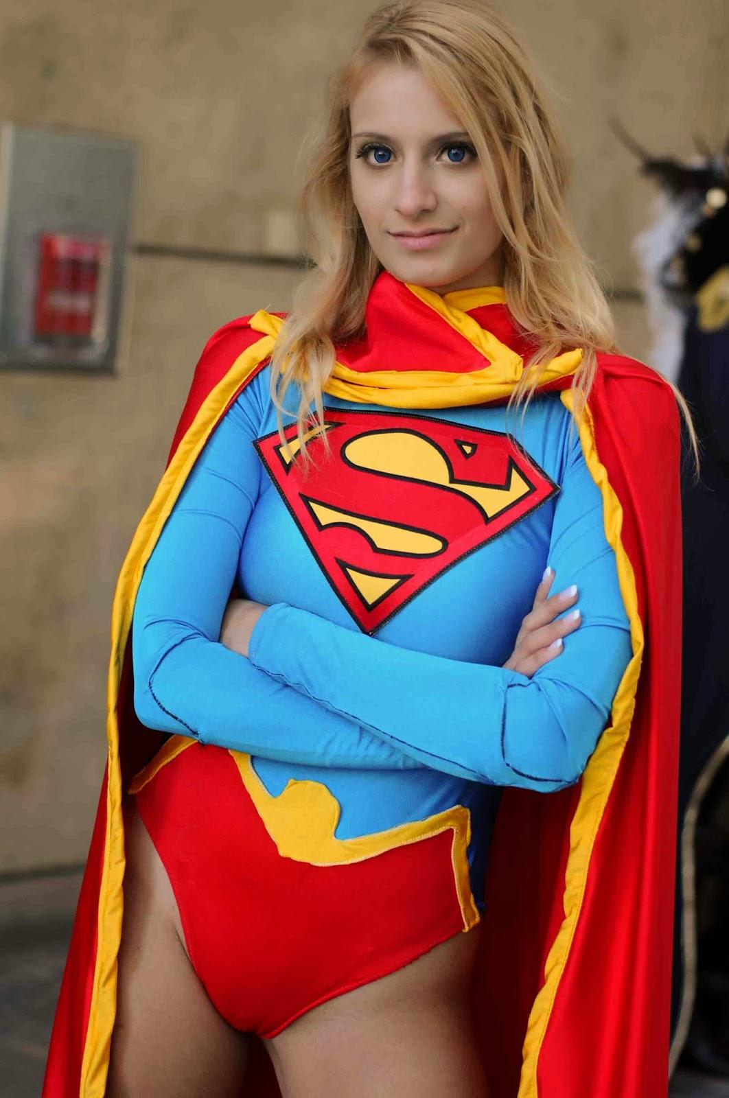 supergirl costume naked photo