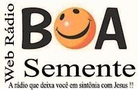 Web Rádio Boa Semente, início das transmissões via internet