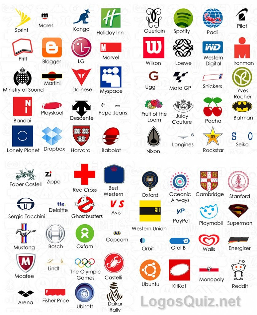 Logos Quiz Answers: Solutions: Logo Quiz Level 9 Niveau 9