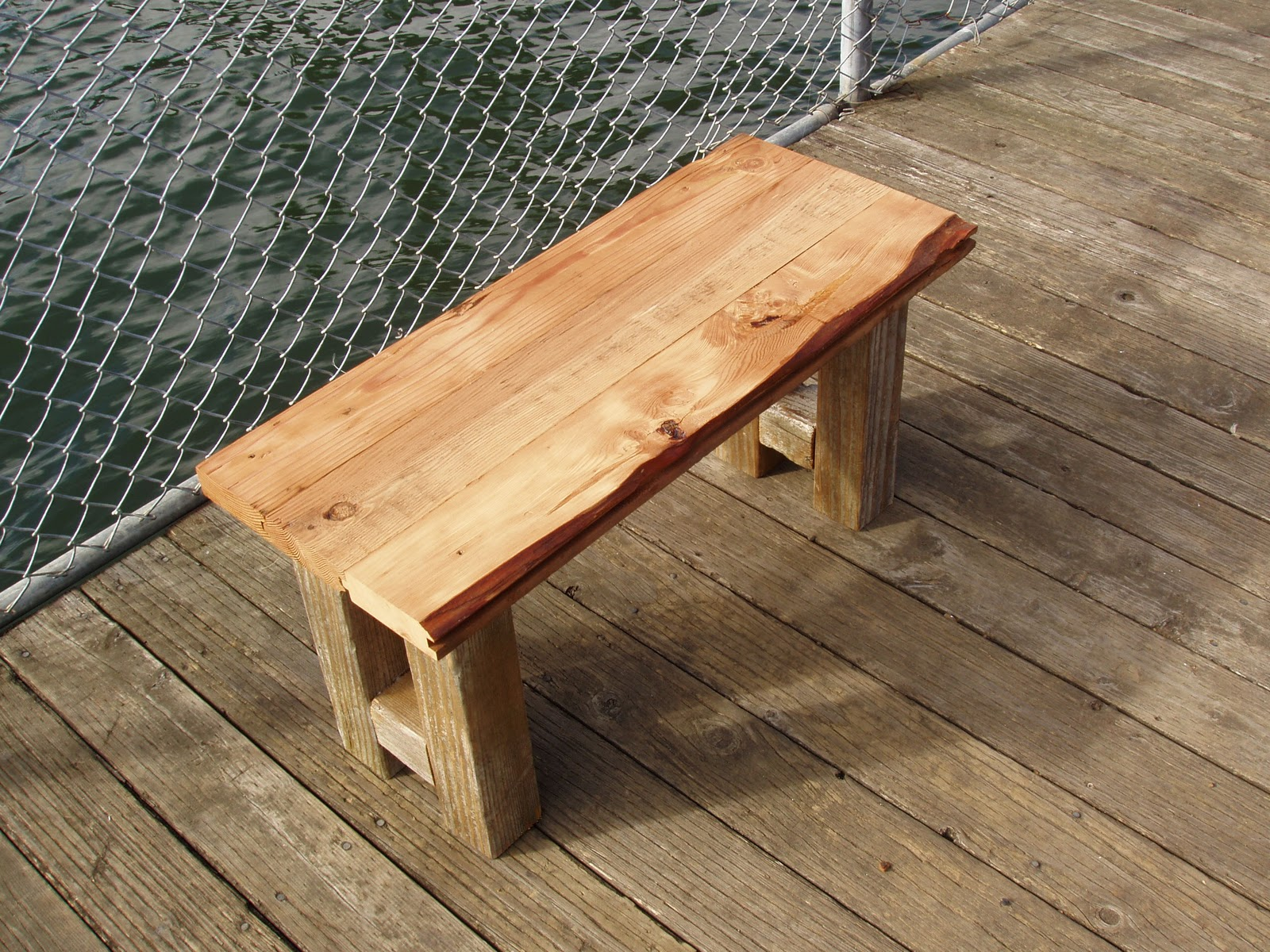 driftedge woodworking Sea Legs Small Rustic Coffee Table Sold