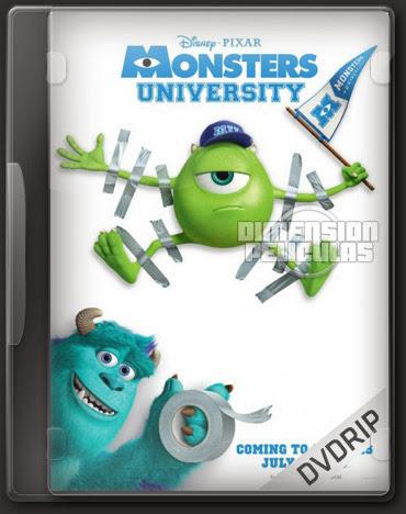 Monsters University (DVDRip Inglés Subtitulada) (2013)