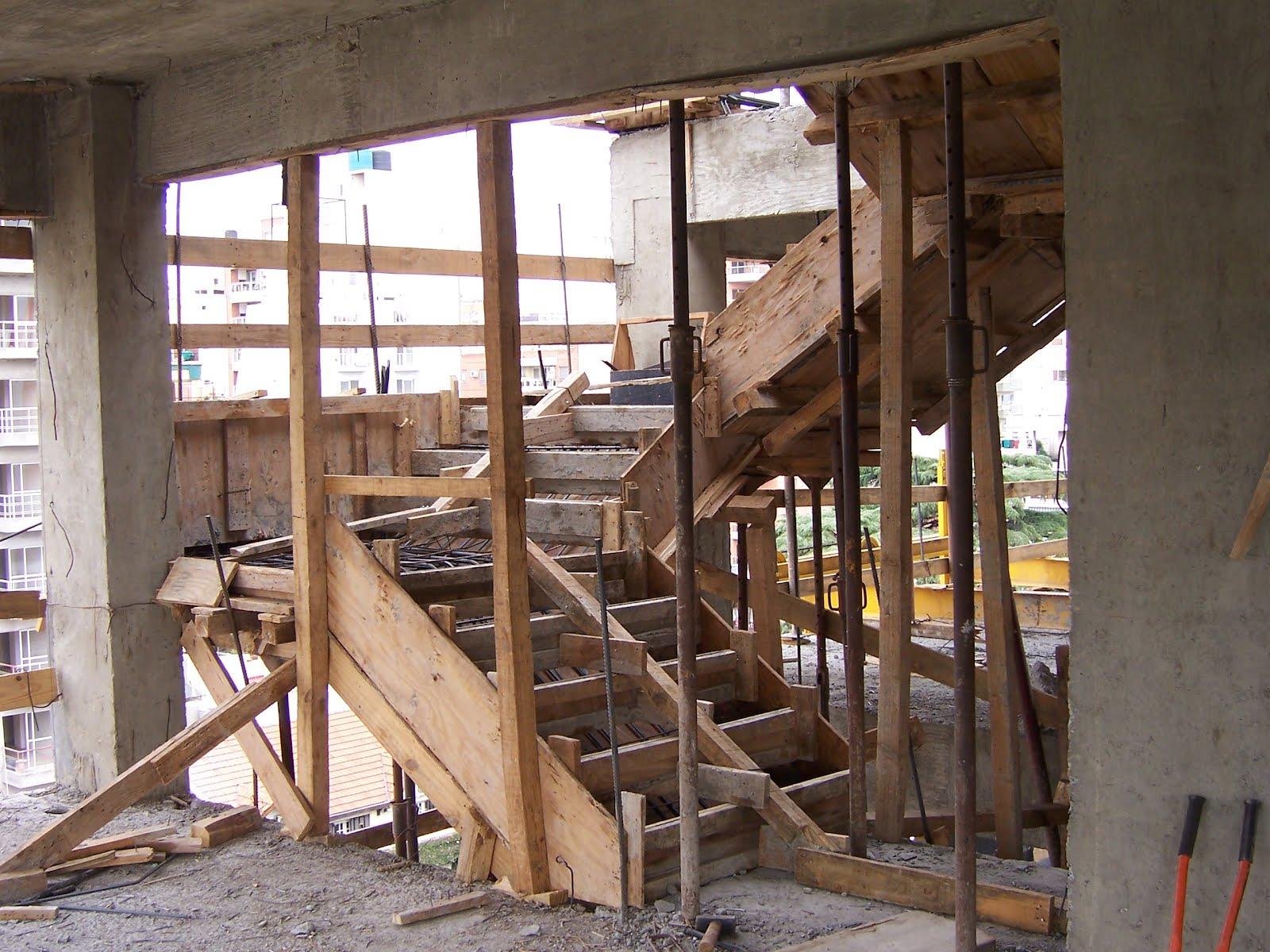 Estructuras de hormigon armado mayo 2012 for Construir escalera de concreto