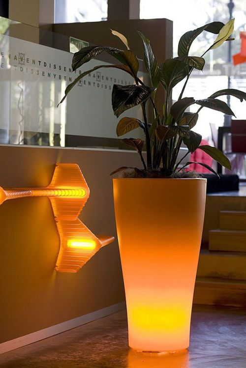 Muebles y decoraci n de interiores l mparas modernas para - Lamparas exteriores para jardin ...