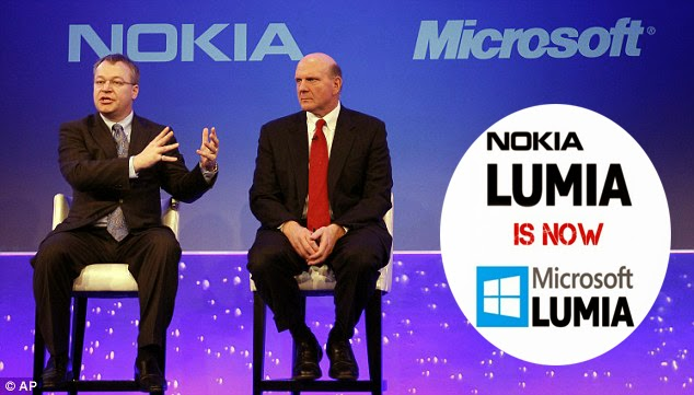 Nokia Lumia Named as Microsoft Lumia Starting October 21, 2014