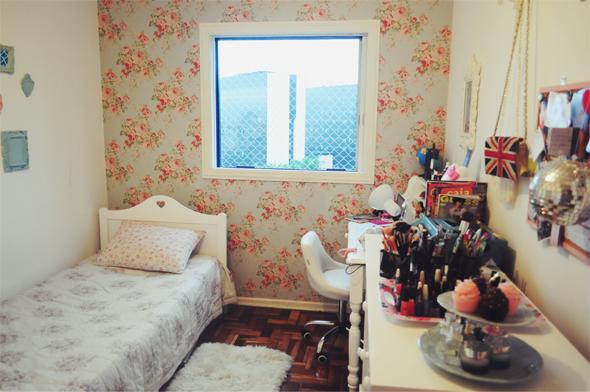 Quartos femininos Como decorar 1ª parte Blog Construir ~ Quarto Pequeno Vintage