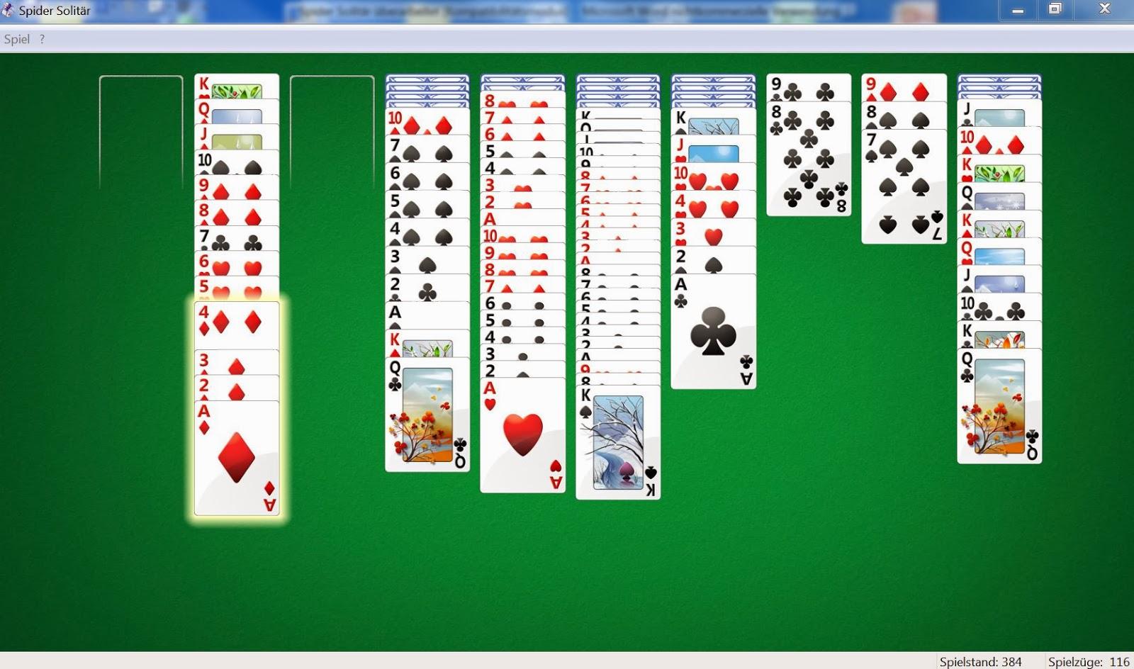 Kostenlose Kartenspiele Solitär