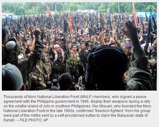 Nur Misuari Moro National Liberation Front