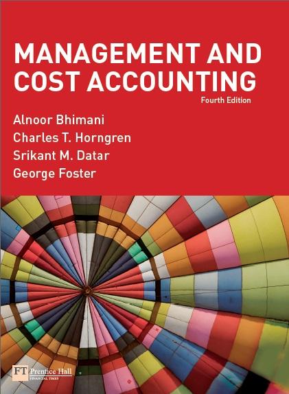 Management Accounting by Akira Nishimura (ebook)