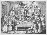 1900's Antique Christmas Illustration via Knick of Time