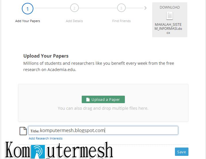 Cara Download File di Academia.edu & Scribd.com