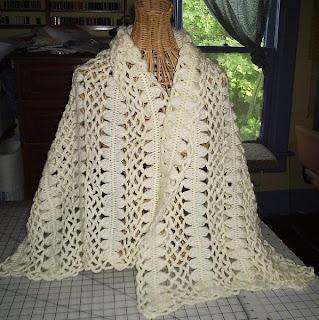 Crochet - Crochet Shrugs, Wraps & Shawls Patterns