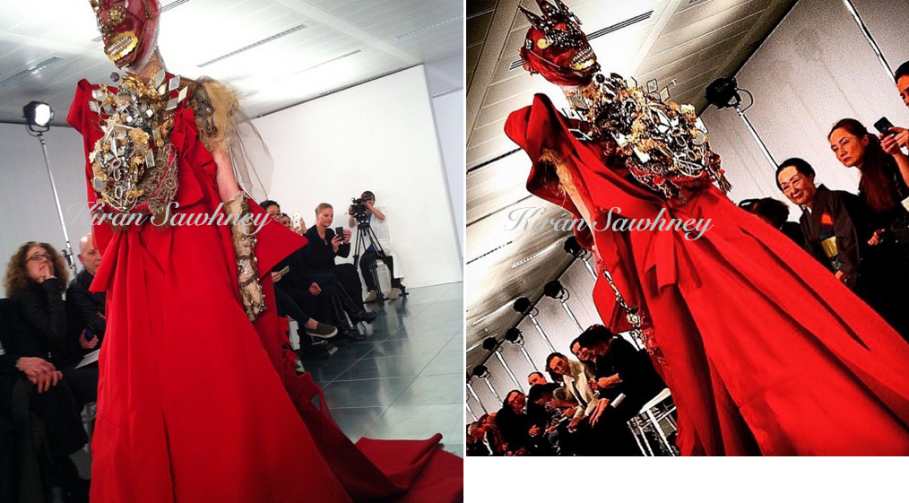 John Galliano debut for Maison Martin Margiela