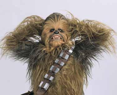 Chewbacca en el concurso Star Wars