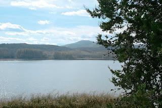 Imagen del pantano de La Grajera