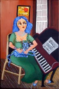 Pintura de:Luiza Caetano.