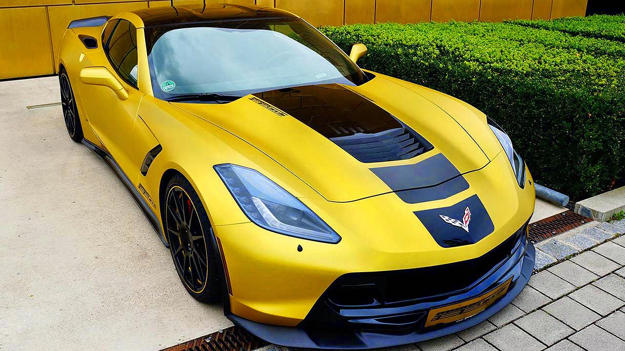 geiger cars chevrolet corvette c7 stingray 2014 6 2 v8 compressor 590 cv 77 2 mkgf 320 kmh carwp. Black Bedroom Furniture Sets. Home Design Ideas