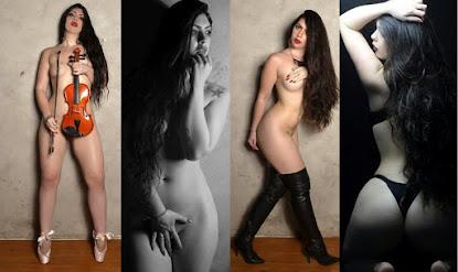 """""""Amo ficar pelada"""", diz modelo"""