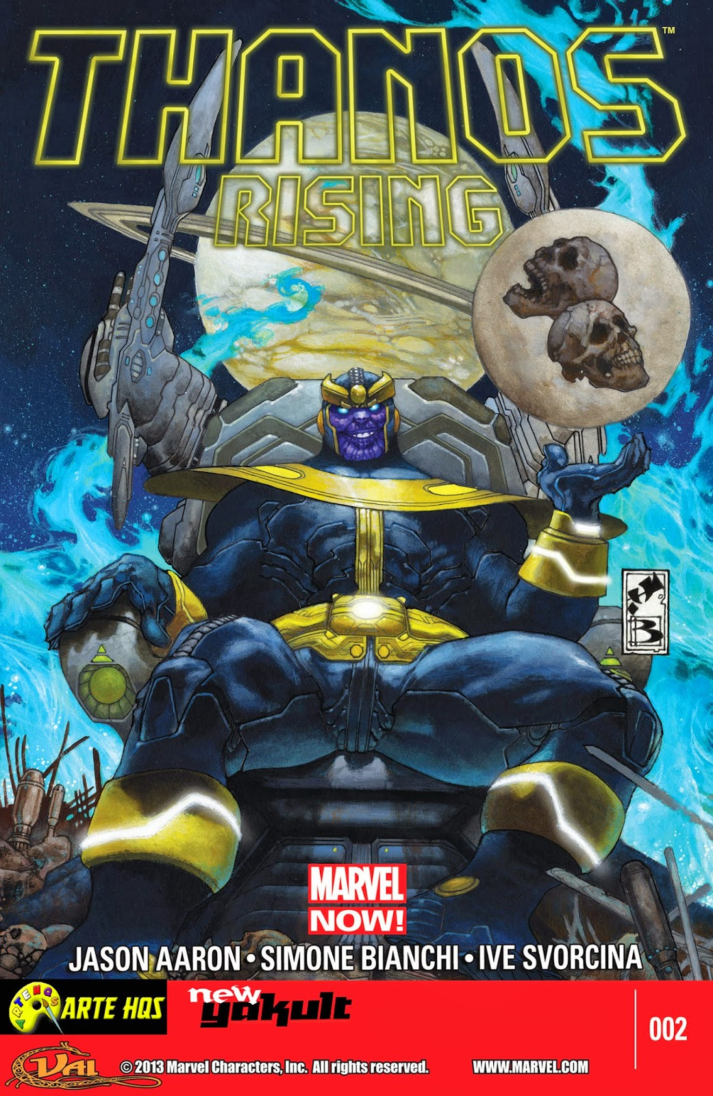 Nova Marvel! Thanos Rising #2