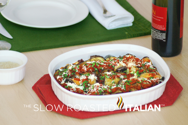 Grilled Eggplant Rollatini with Sun-dried Tomatoes