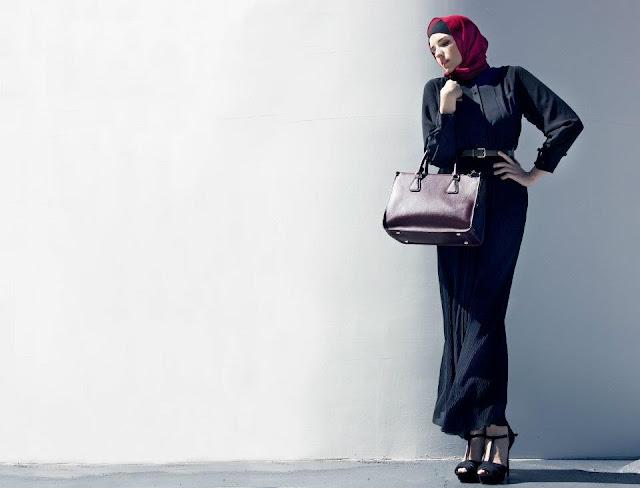 Хиджаб и длинное платье