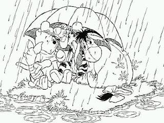 Dibujos de Winnie Pooh para Pintar, parte 5