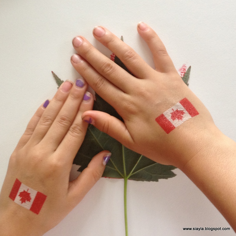 Imagination Station: Happy Canada Day 2014 and a Canada Flag DIY