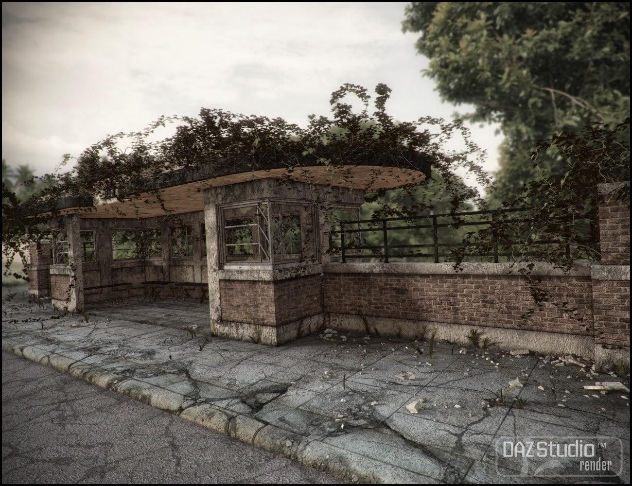 Bus Stop Deco - Last Stop