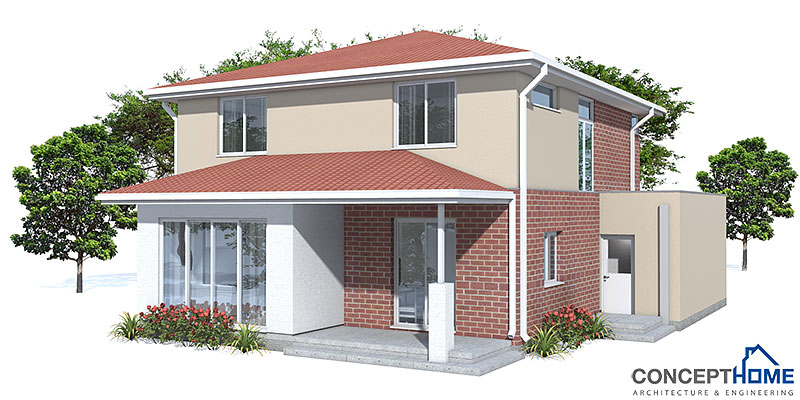 Affordable Home Plans: Affordable Modern House Plan CH111