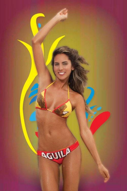 Daniella Ocoro -  Miss World Cup Brasil 2014